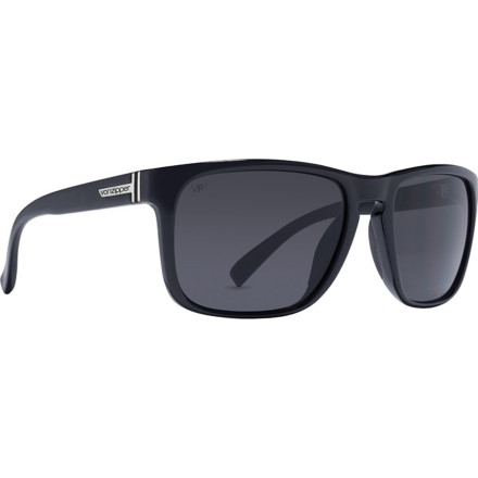 Camp and Hike Rock the classic cool style of the Von Zipper Lomax Polarized Sunglasses no matter where you are. Polarized lenses cut through glare from the water when you're kicking it on the beach, and rubber nose and temple pads provide a secure fit so they don't fall of when you're ripping the bowl at the skatepark. - $149.95