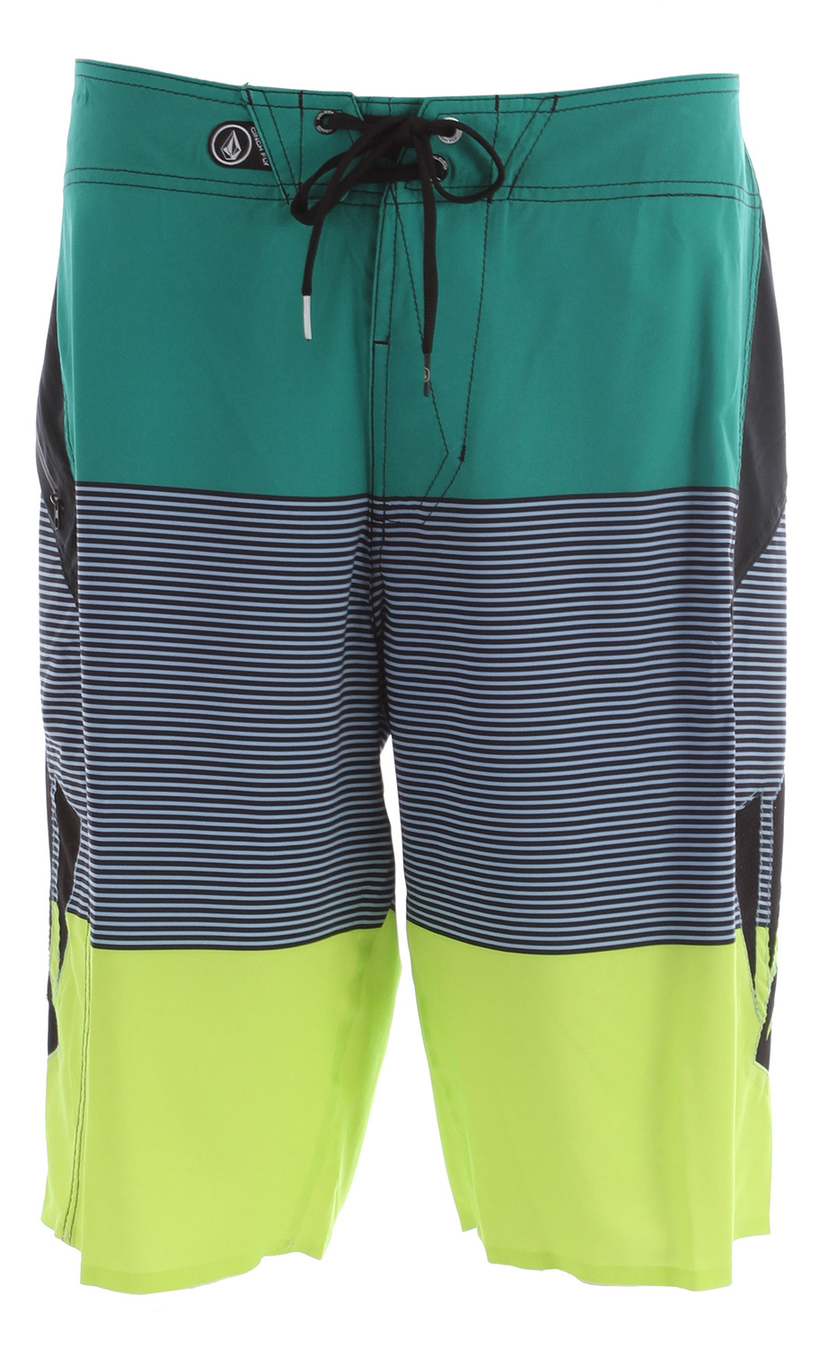 "Surf Key Features of the Volcom Annihilator Blakey Boardshorts: 21"" outseam boardshort Volcom 4 way stretch Ultra light 4 way stretch with water repellant treatment Welded inseam and welded stretch hem Zip pocket Cinch Fly Technology 85% polyester/15% elastane 4 way stretch with DWR - $45.95"