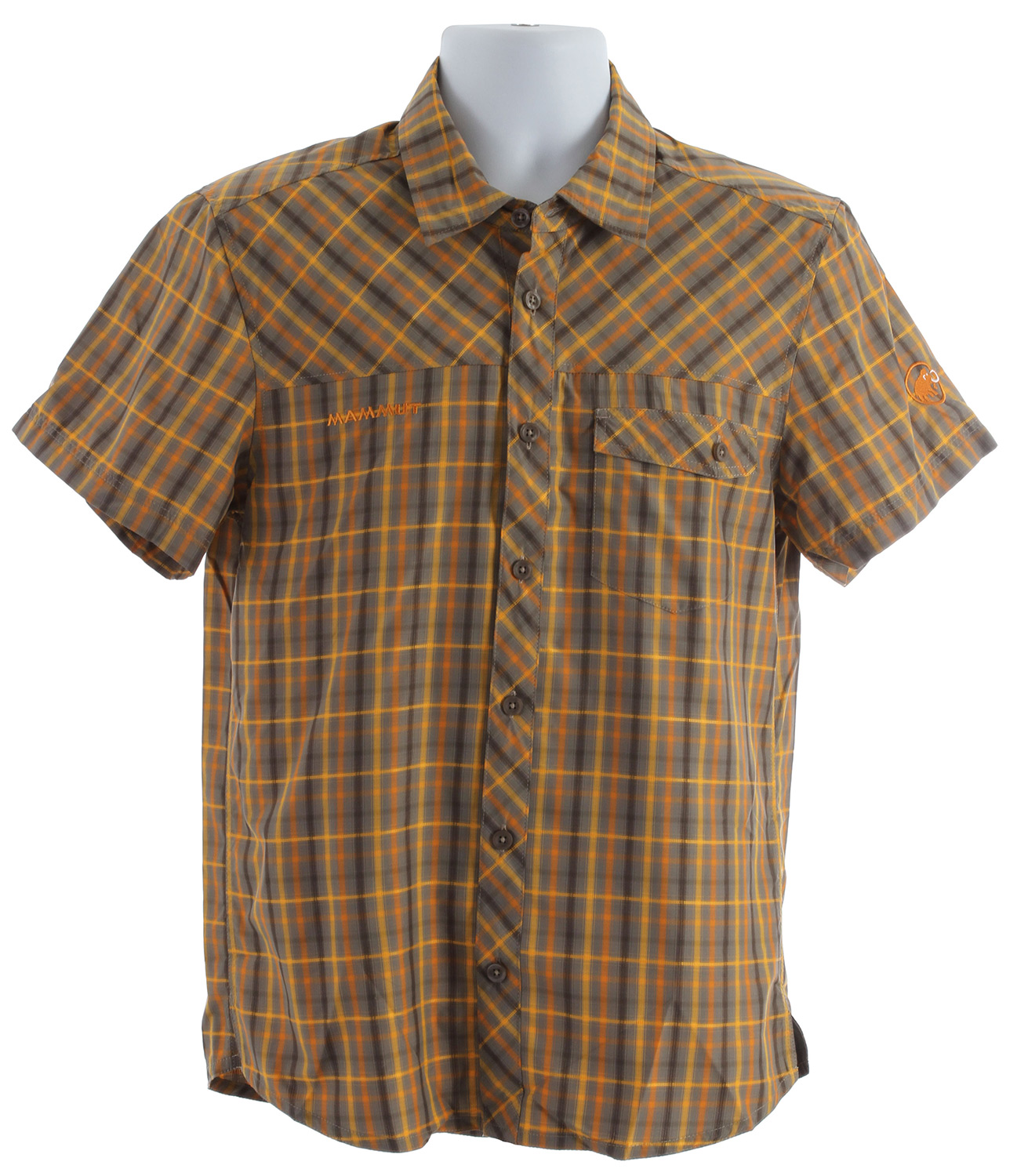 Camp and Hike Mammut Asko Shirt Oak/Lion - $44.95
