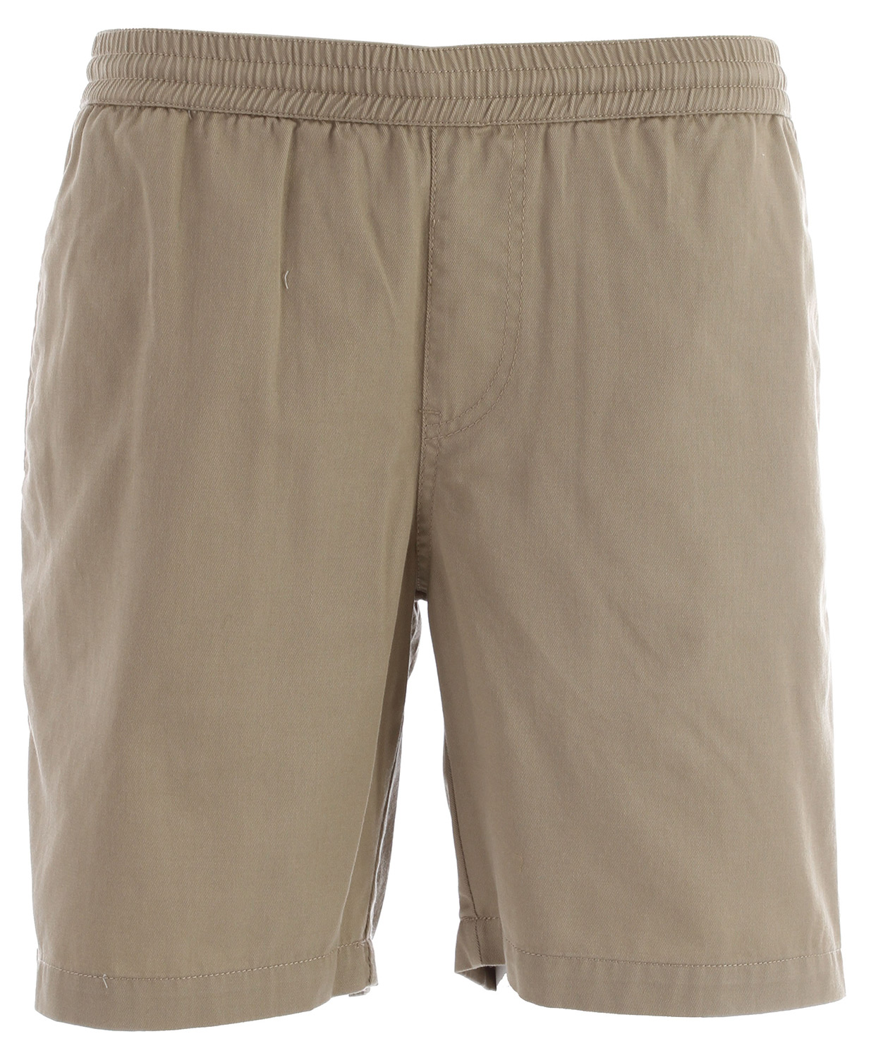 "Surf Key Features of the Volcom Frickin Elastic Shorts: 18"" outseam Elastic waist short with interior drawcord Welt back pockets Pre-laundered 60% cotton/40% polyester - $39.50"