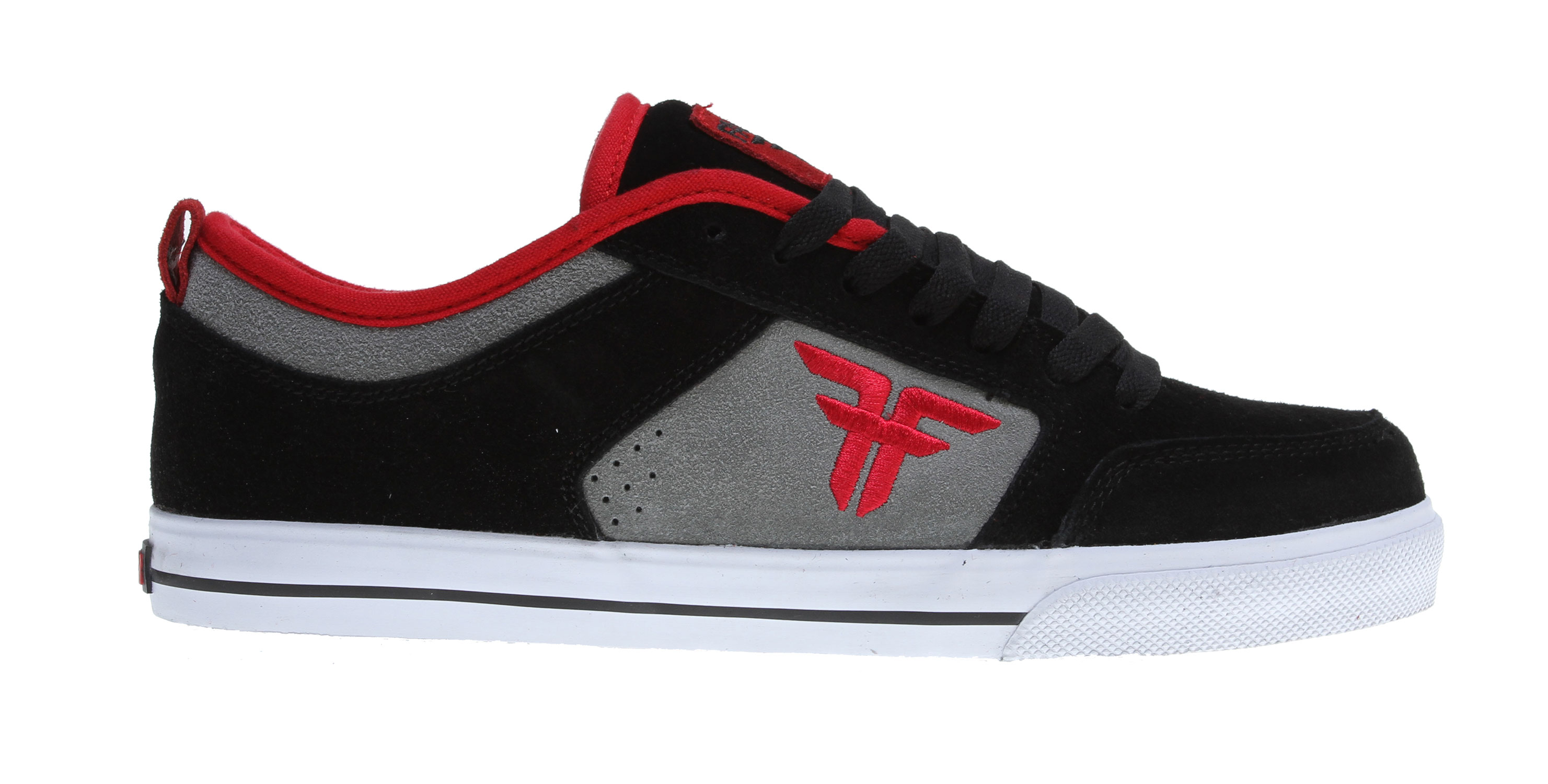 Skateboard Key Features of the Fallen Clipper Se Skate Shoes: Updated Version Of Fallen's Most Popular Model Moderately Padded Upper For Comfort & Support Classic Vulcanized Construction Traditional Skate Silhouette With Triple Stitched Toe Cap Medial Stabilizer For Additional Support L1 Insole - $59.95