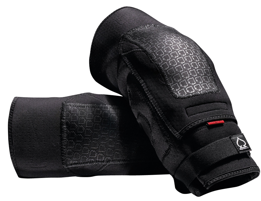Skateboard The Double Down Knee and Elbow Pads are undercover protection at its finest. Slim enough to be worn covertly under clothing, but substantial enough to protect you from harder spills.Key Features of the Protec Double Down Knee Pads: Neoprene body Dri-Lex' moisture management material on back panel - Ballistic nylon pocket containing removable, dual-layered EVA padding and internal hard cap Newly added silicon panel around the lower interior, helping to keep the pad in place - $39.99