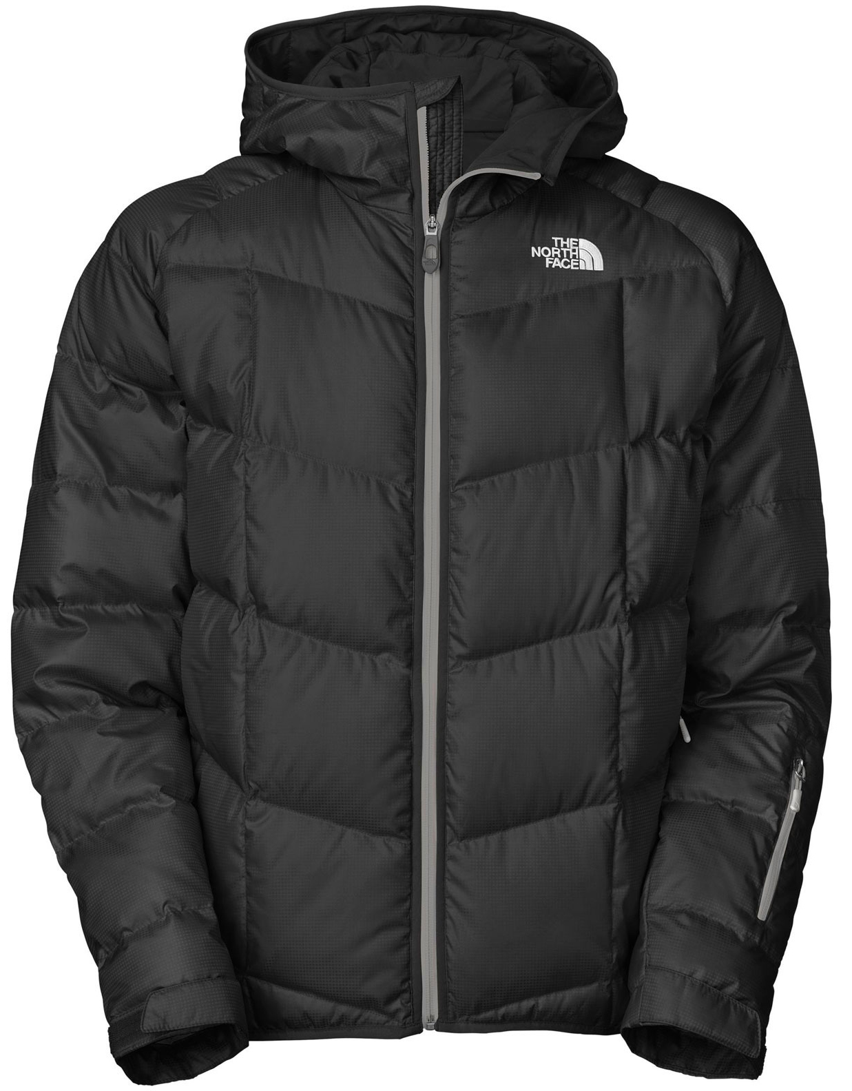 "Ski 550 down-filled warmth in a water-resistant, DWR-treated ski jacket with a powder skirt and pass pocket. Key Features of The North Face Gatebreak Down Ski Jacket: Avg Weight: 860 g (30.34 oz) Center back: 29"" Fabric: shell: 50D 82 g/m2 polyester shadow ripstop with DWR (bluesign® approved fabric) Insulation: 550 fill down Water-resistant, windproof, breathable Handwarmer zip pockets Wrist accessory pocket with goggle cloth Internal media pocket Internal goggle pocket Powder skirt Adjustable hem system Adjustable cuff tabs - $160.95"
