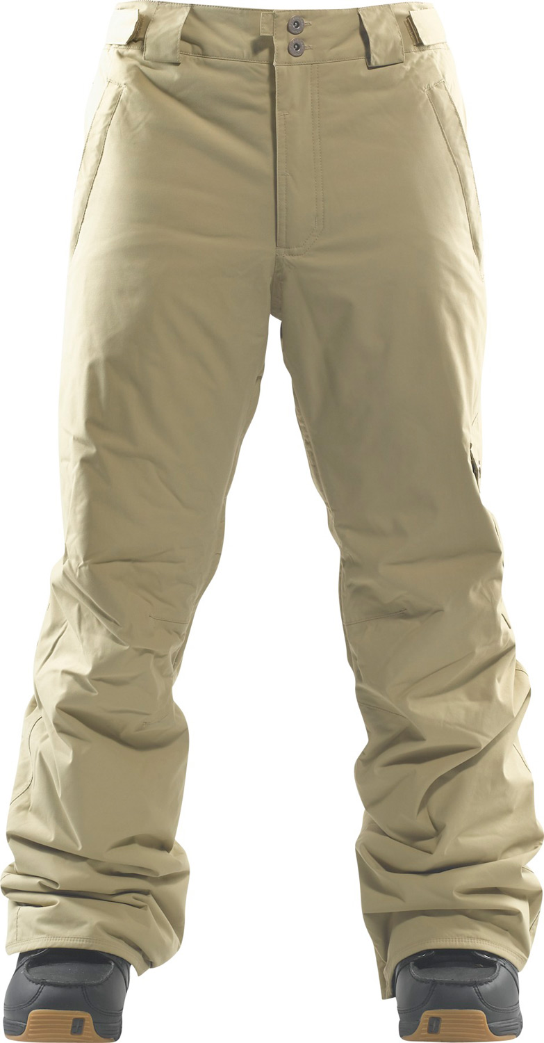 Snowboard Classic Utility Pant - Every Thing Where You Need It.Key Features of the Foursquare Work Snowboard Pants: 8,000mm Waterproof 5,000g Breathability Material: Microshield Nylon Micro Twill Fully Taped Seams Zonal Mesh And Nylon Taffeta Lining Cargo Pocket - $71.95