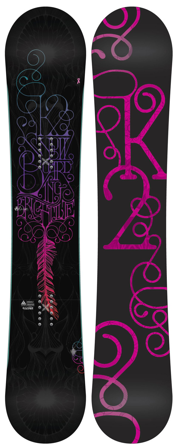 "Snowboard The 2012-2013 K2 Bright Lite is shining out for all-mountain women riders seeking smooth, easy style and fun. With the proven performance of K2's Rhythm core, All Terrain Rocker Baseline and a playful flex, the Bright Lite is ideal for the woman looking to progress to the next level.Key Features of the K2 Bright Lite Snowboard: All Terrain Rocker Hybritaper Rhythm Core Baseline: All Terrain Rocker Tweakend Damping: Standard Construction: Hybritaper Shape: Twin Hyper Progressive Stance:3/4"" Setback (19mm) Core: Rhythm Core Additives: Standard Glass: Biax / Biax Base: 2000 Extruded Base Bevel: 3 degree - $251.95"