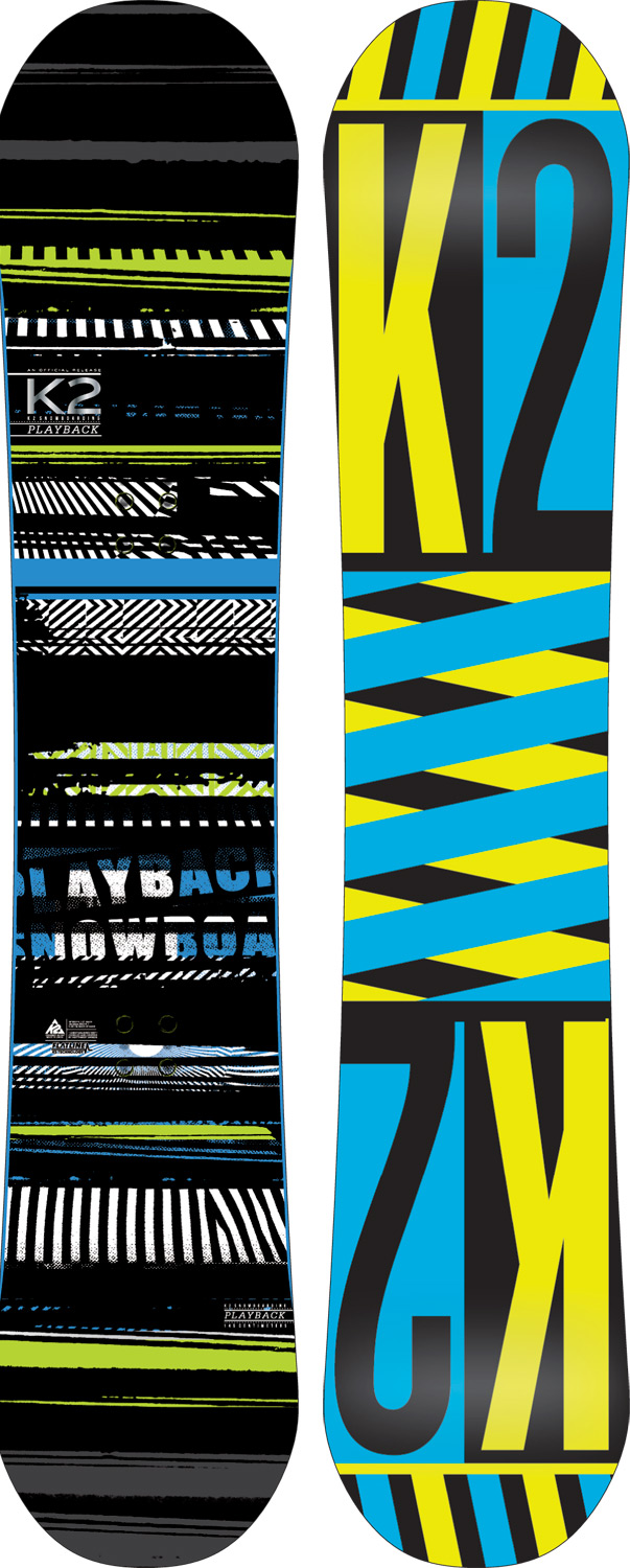 "Snowboard The Playback is the purpose built freestyle board that packs the most bang for the buck you can find in your local snowboard shop. Featuring K2's tried and true Flatline Baseline giving the board a super-smooth neutral feel with tons of pop.Key Features of the K2 Playback Snowboard 145: BASELINE: Flatline ADDITIVES: Standard CONSTRUCTION: Hybritaper SHAPE: Twin Hyper Progressive STANCE: Centered Stance Core: W1 Glass: Biax / Biax Additives: Standard Base: 2000 Extruded Base bevel: 3"" - $203.95"
