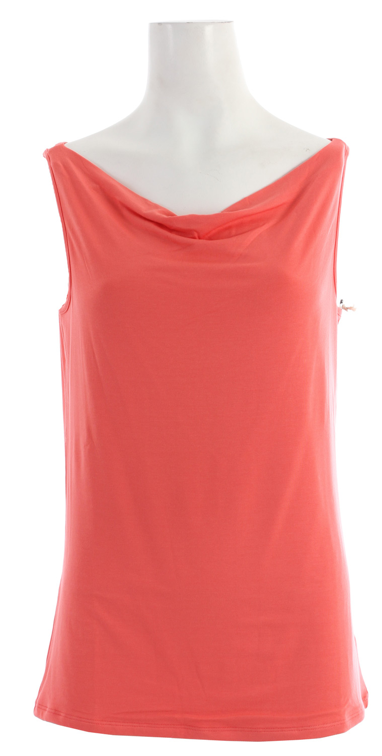 Fitness Key Features of the Horny Toad Wisper Tank: Fabric: Wisper Knit Is 95% Micromodal, 5% Spandex Cowl Neckline Bra-Friendly Straps Double-Layer Front - $34.95