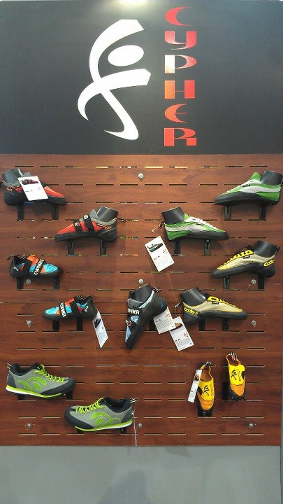 Climbing We've set up shop in the Liberty Mountain booth (#13011). Come check out our full line of new shoes.