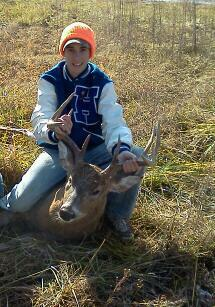 Hunting Biggest buck to date. Two years ago.