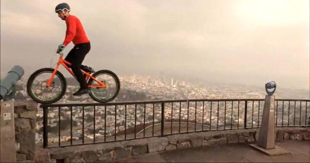 MTB Danny MacAskill taking on some of San Francisco's most famous landmarks