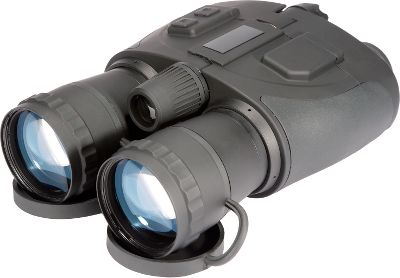 Hunting Cost effective ATN Night Scout VX Generation 1 nightvision binoculars dont sacrifice quality or performance. Compact and lightweight construction sports a dual-image tube for detailed depth and comfort. An integrated infrared illuminator lets you see in total darkness without ambient light. Multicoated lenses and 5X magnification for ultraclear viewing at long ranges. Weather- and fog-resistant. Battery: 2 (3V CR123A). Weight: 3.3. Type: Night Vision Bi-oculars. Power: 5x. Length (in.): 8.9. Generation: I. FOV: 20 degrees. - $499.99