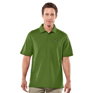 Golf A bright, two-color pinstripe design gives the UA Draw Striped Polo both the style and the performance needed to stand out on the green. Built with the avid golfer in mind, this golf polo moves when you do with its lightweight, 4-way stretch Performance Pique HeatGear(R) fabric-making your swings truer and your follow-through smoother. And its superior Moisture Transport System keeps you cool, dry, and odor-free. The UA Draw Striped Polo also features a rib-knit collar for extreme comfort and mobility from the first hole to the last. Lightweight, soft-knit performance pique HeatGear(R) fabric is comfortable and breathableSignature Moisture Transport System wicks away moisture to keep you cooler, drier, and more focusedAnti-odor technology prevents the growth of odor-causing microbes to keep your gear fresher, longerRib-knit collar is built for max comfort so you're never distracted2-color pinstripe design and contrasting solid interior panel let them know you have style on and off the course4.2 oz. PolyesterImported - $29.99