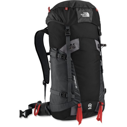Camp and Hike The top-loading North Face Prophet 40 pack travels light and fast with a sleek design and uncompromising quality for climbers and mountaineers who reach for the summits. - $179.00