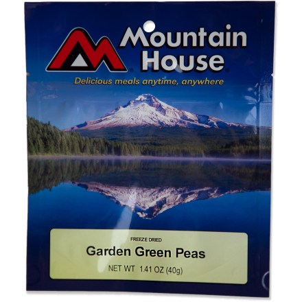 Camp and Hike Instant, fresh-tasting green peas that make a great side dish for camp meals. - $2.93