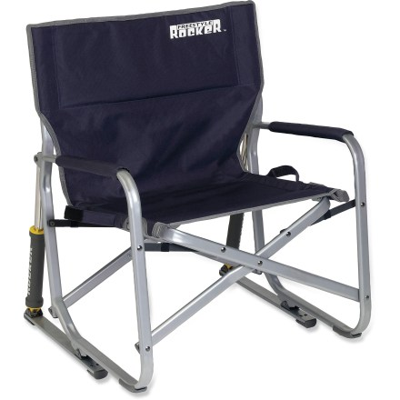 Camp and Hike Kick back and relax at the campground with the smooth rocking motion of this sturdy, travel-friendly chair. - $65.00