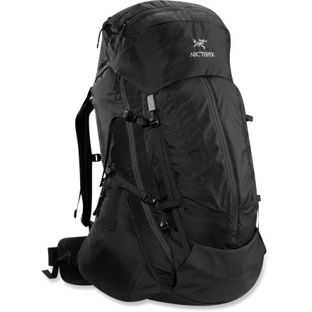Camp and Hike Bring the Arc'teryx Altra 75 pack on your next gear-heavy, multiday trip or light-and-fast, long-range adventure. It combines an advanced suspension system with a sturdy frame and light materials. - $479.00