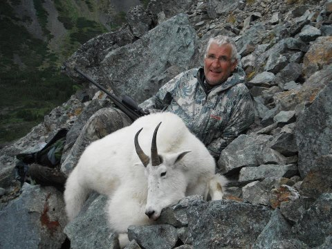 "Hunting 10"" Mountain Goat from Northern BC"