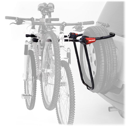 Camp and Hike No need to ditch the spare in order to carry your bikes! New from Yakima, the Spare Joe straps right to your spare tire and carries two bikes. - $130.00