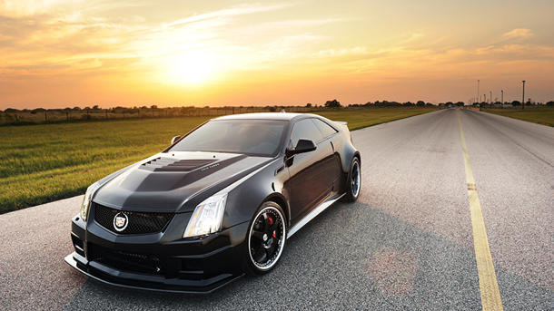 Auto and Cycle 1,200-hp Hennessey Cadillac CTS-V Coupe offered to 12 insane owners