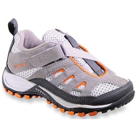 Camp and Hike Outfit your little one for rugged adventures in the Merrell Chameleon 4 Ventilator Z-Rap shoes. - $12.83