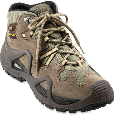 Camp and Hike Light on the scale but heavy on the features, the women's Lowa Bora GTX QC light-hiking boots supply waterproof protection, excellent support and comfort. - $45.83