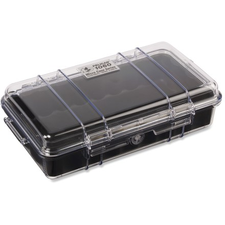 Climbing Flexing the legendary muscle of the original Pelican Case, this mini case provides armor against the brute forces of nature. - $32.00