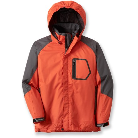 Camp and Hike Waterproof, windproof and breathable, the Killtec Adamo Jr. jacket cloaks boys in a layer of reliable and comfortable protection from the elements while they enjoy outdoor fun in inclement weather. - $12.83
