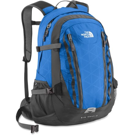 Entertainment If you're searching for a daypack to haul your gear while you're traveling to work or class, check out the Big Shot II pack from The North Face. - $86.93