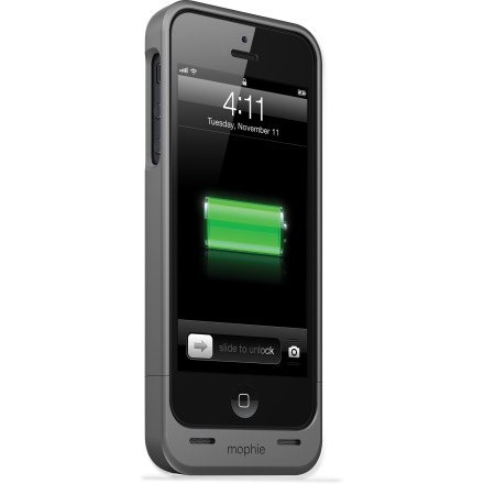 Entertainment The mophie Juice Pack Air case for iPhone 5 or 5s offers a rechargeable battery concealed inside a protective case. It virtually doubles your battery life and protects your phone at the same time. - $24.93