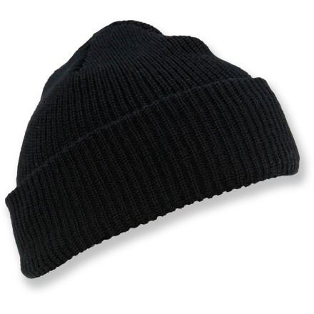 This double-layer, roll-brim Wigwam Outlast Watch cap features a Dri-release(R) polyester/wool lining that wicks moisture and lets it evaporate quickly to keep you comfortable. - $14.00