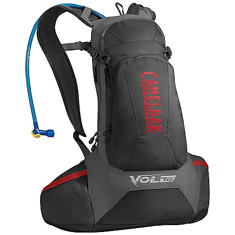 Fitness Free Shipping. CamelBak Volt 13 LR Hydration Pack DECENT FEATURES of the CamelBak Volt 13 LR Hydration Pack Lightweight, with vertical ventilation chimney allowing your back to breathe Antidote Lumbar Reservoir with 1/4 turn - easy open/close cap Lightweight fillport Patented Big Bite Valve HydroGuard technology PureFlow tube Easy-to-clean wide-mouth opening Ultra-light materials Helmet hook Lumbar reservoir compression Bike tool organizer pocket Stretch overflow storage Media pocket Designed to Carry: Helmet, multi-tool, CO2 pump & cartridges, spare tube, extra layer, energy supplements, phone, wallet, keys The SPECS Hydration Capacity: 100 oz / 3 L Lumbar Total Capacity: 600 cu in/ 10L +3L Reservoir Weight: 1.20 lbs / 540 g Dimensions: 20 x 26 x 9 in / 50 x 66 x 23 cm Torso Length: 17 in / 43 cm Back Panel: LV Harness: Ultra-light 3D Mesh Independent Suspension with Slider Sternum Strap Belt: Fixed 25mm / 1in. with cargo pockets Fabric: 40D Diamond Ripstop & 230D Taffeta, 210D Nylon with DWR + 1000 mm PU + Silicone - $123.95