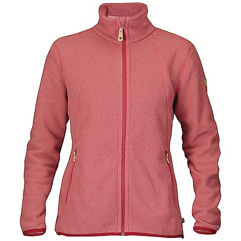 Free Shipping. Fjallraven Women's Stina Fleece DECENT FEATURES of the Fjallraven Women's Stina Fleece Melange fleece with recycled polyester and solution dyed fabric Light weight fleece that gives that extra layer in colder days High collar with chin protection, 2 zip pockets at bottom Leather details The SPECS 100% polyester - $99.95