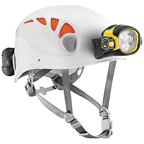 Entertainment On Sale. Free Shipping. Petzl Ultra Vario Belt Headlamp DECENT FEATURES of the Petzl Ultra Vario Belt Headlamp Headlamp keeps the hands free for work: may be worn on the head with the headband, or mounted on a helmet (ALVEO or VERTEX) with removable plates (included) Very high capacity battery may be moved to the waistbelt (case and mount included) to minimize the weight carried on the head? Constant lighting: guaranteed lighting performance that does not diminish during the entire rated battery life? Switches to reserve lighting when rechargeable battery is almost discharged: lights to 43 lumens for a minimum of 2 hours? Low intensity mode: wide beam with relatively low intensity favors a long battery life and prevents blinding others? Close-range work mode: wide beam with intensity adapted to comfortable close-range vision Movement mode: mixed beam offers a focused component for easily moving around Distance vision mode: highly focused beam for spotting (maximum range) Rotating selector knob is easy to use, even with gloves, allowing quick access to the different modes Quick connection system makes the battery easy to remove? Front and back comfort plates with adjustable elastic headband for an excellent fit on the head? High-capacity remote rechargeable battery pack 5200 mAh Lithium-Ion rechargeable battery offers excellent performance at low temperatures? Energy gauge allows monitoring of battery's charge level? Light flashes to signal switch to reserve lighting mode?- charger included; quick charge in 5 hours for frequent use? Excellent resistance to falls, to impacts and to crushing? Waterproof (to -1 m for 30 minutes) and dustproof (IP 67) No maintenance required after immersion The SPECS Weight: lamp 230 g + ACCU 4 ULTRA 265 g? - $429.95