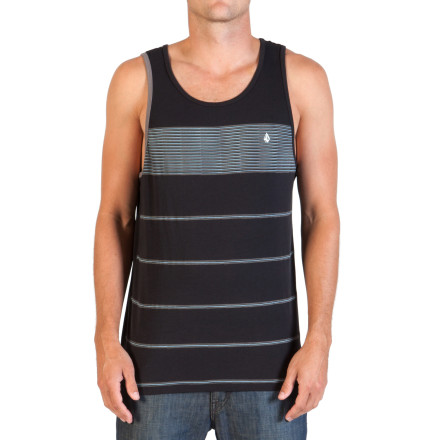 Surf Volcom Black Out Grout Tank Top - Men's - $24.95
