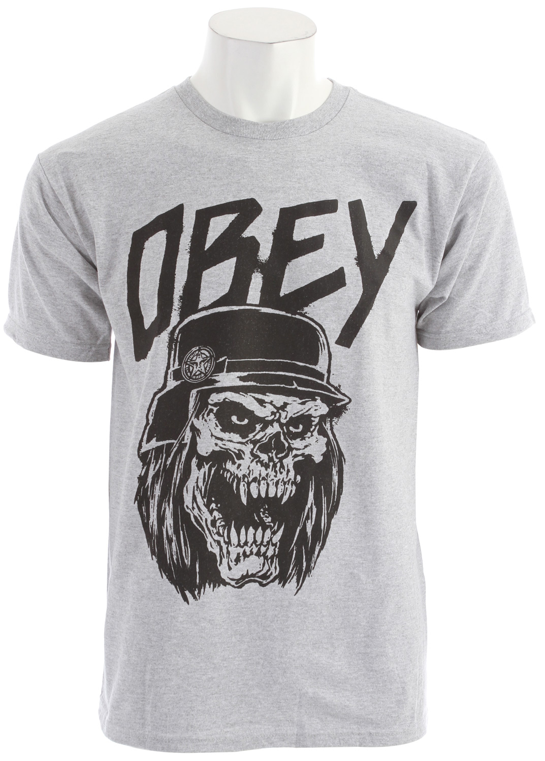 Key Features of the Obey Reign In Obey Basic T-Shirt: Heavy weight Regular fit tee with inset Rib crew neck 100% Cotton - $20.95