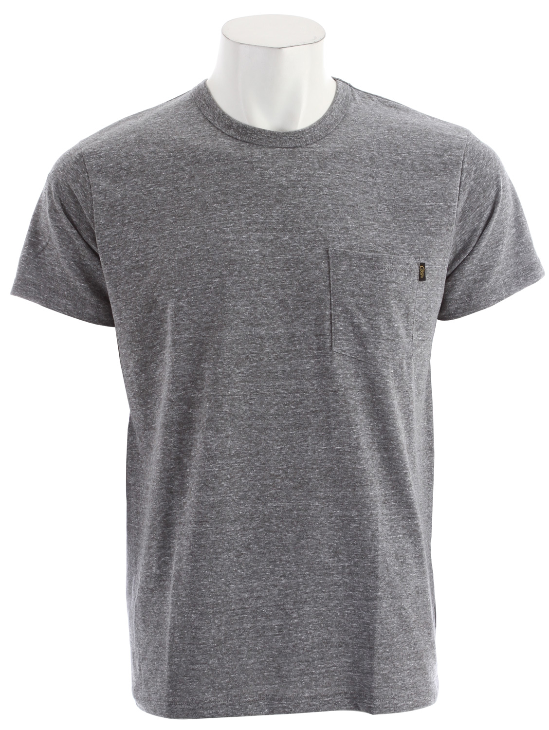 Key Features of the Obey Tri-Blend Pocket T-Shirt:  Slim fit tee with rib crew neck  Features tri blend jersey and a single chest pocket at wearer's left side  Includes OBEY specialty labels at interior neck and side of pocket  50% Polyester / 25% Cotton / 25% Rayon - $16.95