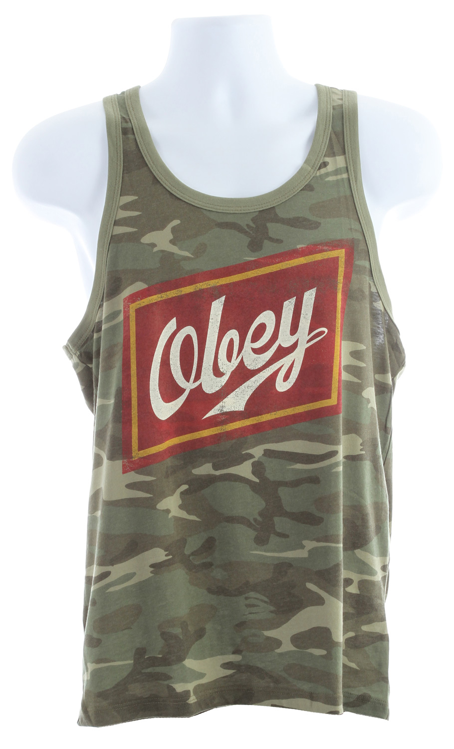 Surf Key Features of the Obey Malt Liquor Ringer Tank: Lightweight Slim fit tank with contrast rib neck and armhole binding 100% Cotton - $35.95