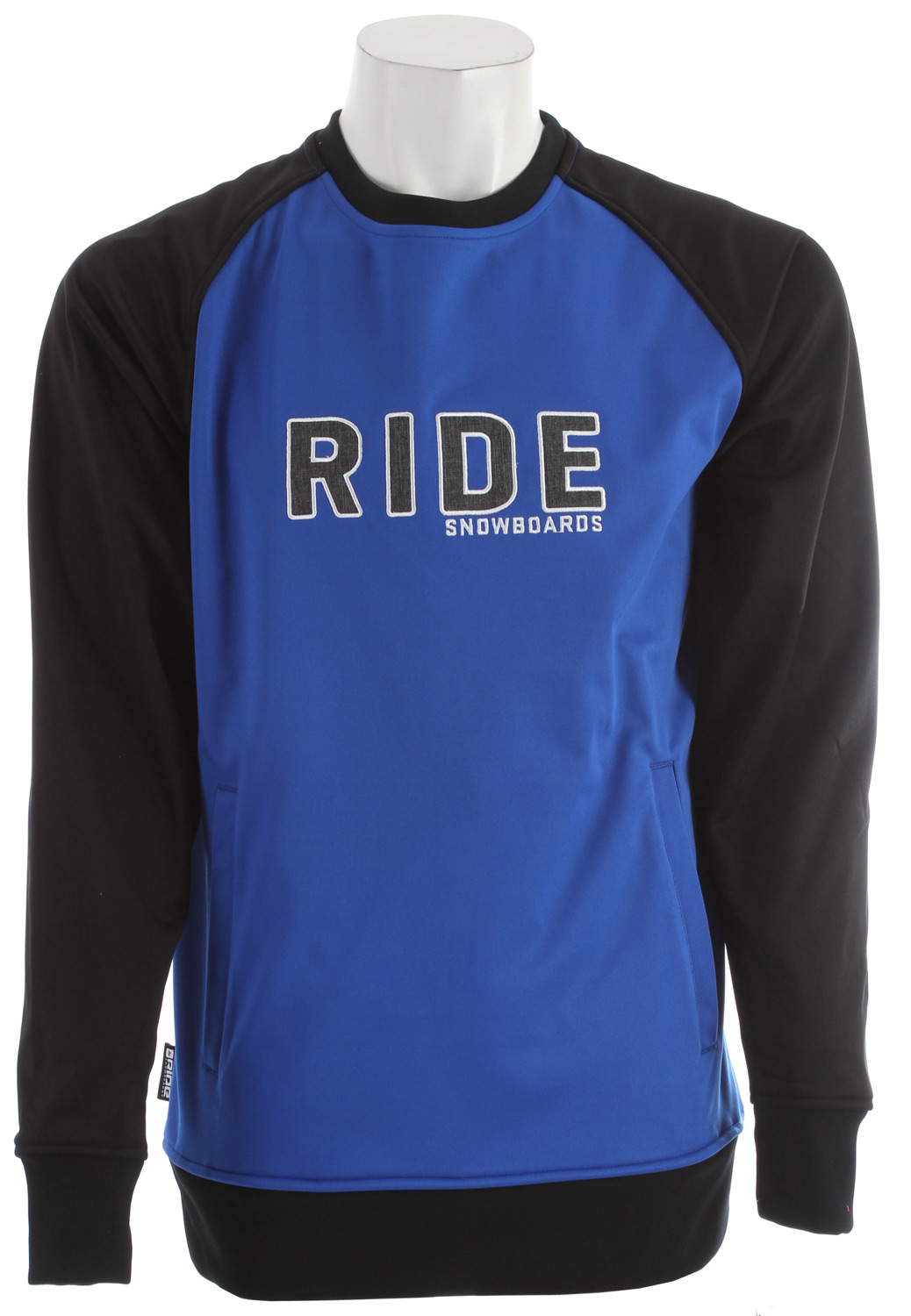 The new Westwood bonded fleece crewneck offers a 3K waterproof rating with side welt pockets and thumb holes to keep you comfy.Key Features of the Ride Westwood Sweatshirt: Side Welt Pockets Thumb Holes at Cuffs Tailored Fit - $32.89