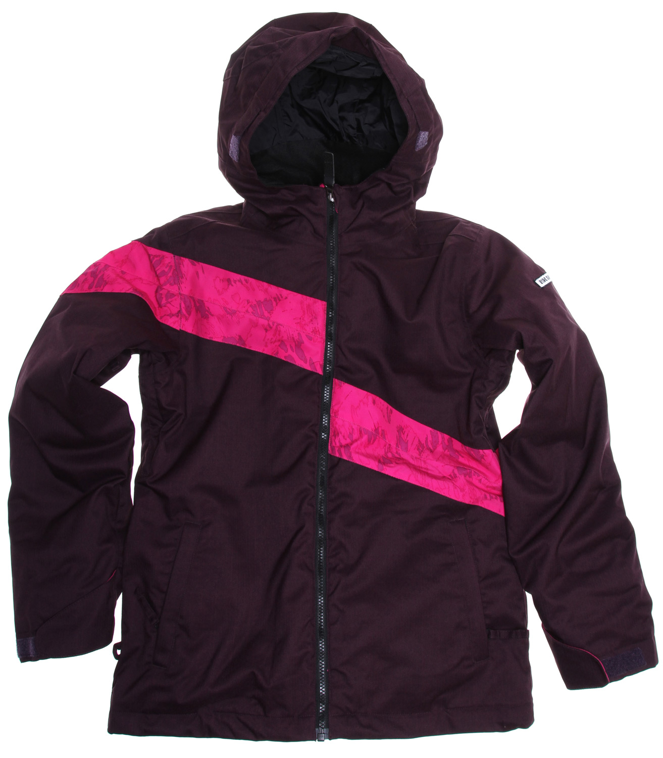 "Snowboard The Ride Chevelle Insulated girl's snowboard jacket comes complete with a Zip In/Out Poly Fleece jacket, 5k/5k waterproof breathable rated shell and 80g Poly Insulation making for a youth jacket that isn't short on features or style.Key Features of the Ride Chevelle Snowboard Jacket: 5,000mm Waterproof 5,000g Breathability 80g Poly Insulation with Taffeta Lining Zip In/Out Poly Fleece Sweat Jacket Growth Seams at the Sleeve Hem That Extend out 1 1/2"" in Length Girls Snowboard Jacket with Attached Powder Skirt Unlined Vents Velvety Comfort Chin Guard and Inner Collar Adjustable Cuffs with Glove Hook Loops Attached Hood Adjustable Elastic Hood Adjustments Inner Front Pocket One-Handed Draw Cord Inside Media Pocket Lift Ticket Self-Fabric Loop Front Micro-Fleece Lined Toaster Pockets - $87.85"