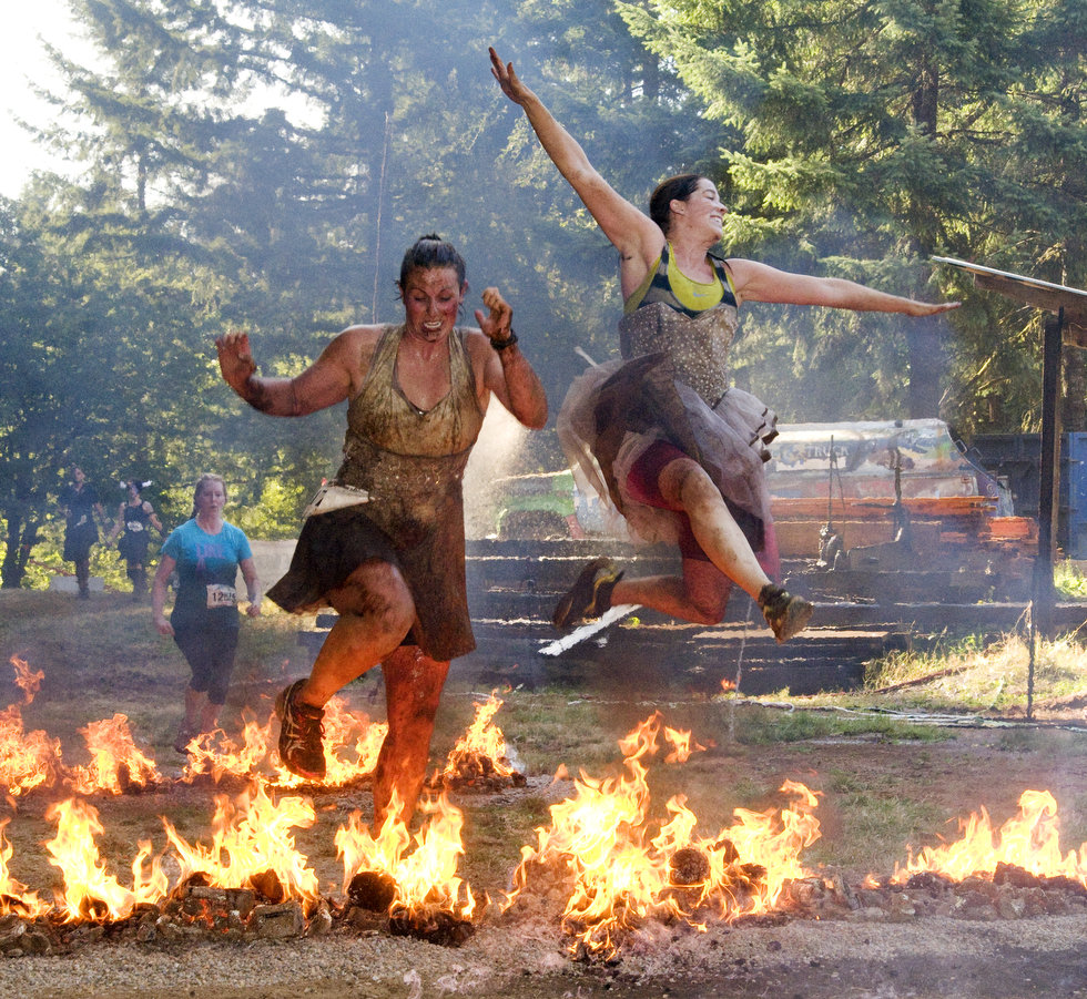 Fitness Warrior Dash - Horning's Hideout, North Plains, Oregon