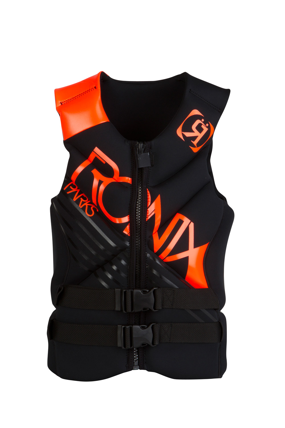 Wake Key Features of the Ronix Parks Capella CGA Wakeboard: Parks Bonifay's arced flotation garment of choice. Circular construction 2 buckles, 1 zip closure Coast Guard Approved Smooth Skin/Neoprene Shell - $139.99
