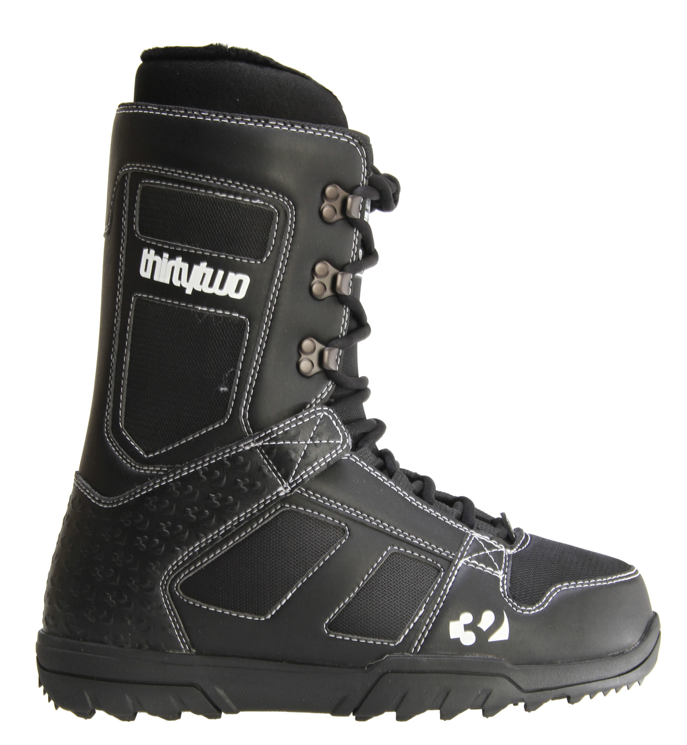 Snowboard Stand out from the weekend warrior pack.Key Features of the 32 - Thirty Two Exus Snowboard Boots: Comfort Fit Level 1 Liner Level 1 Ortholite Footbed 4/10 Flex Rating Rubber Outsole With EVA Cushioning 3D Molded Tongue Internal Lacing System - $83.95