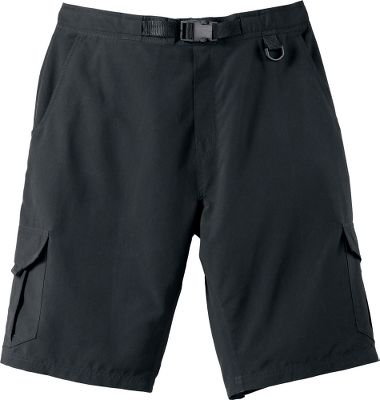 Fitness Wear Cabelas River Guide Cargo Shorts on any fishing outing and when the action stops, hit the beach for a swim. Made to carry fishing gear, these shorts boast hook-and-loop-close cargo pockets with drain holes, front side-entry pockets, a covered rear pocket with a zipper and a handy D-ring on the side. The interior mesh brief, soft tricot waistband and back elastic waistband deliver superior water-sports comfort. 100% polyester. Imported. Inseam:11. Sizes: S-5XL. Colors/camo patterns: Black, Sandy Brown, Firebrick, Kingfisher Orange, Deep Royal, Seclusion 3D Backwaters, Seclusion 3D, Seclusion 3D Open Country. Size: L. Color: Firebrick. Gender: Male. Age Group: Adult. Material: Polyester. - $8.25
