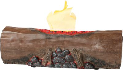 No matter rain or shine, inside or out, the Campfire Kids play campfire is always bright. This simulated fire features a fan-powered flickering flame that is safe and cool to the touch. Glowing embers and realistic log design adds to its realism. Powered by four AA batteries (included). For ages 3+. - $9.88