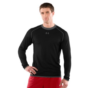 Fitness Wear the light side next to your skin to keep you cool and comfortableWear the dark side next to your skin to keep you warm and drySignature Moisture Transport System wicks sweat to keep you dryAnti-odor technology prevents the growth of odor-causing microbes to keep your gear fresher, longerRaglan sleeve construction prevents chafingContrasting color sides, for versatility7.5 oz. Polyester/ElastaneImported - $49.99