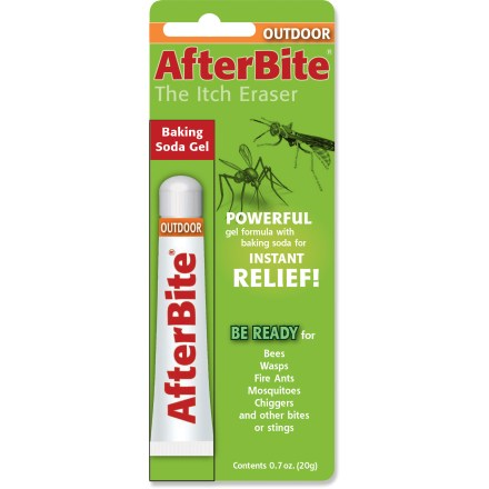 Camp and Hike AfterBite Outdoor itch treatment provides fast-acting relief from mosquitoes, chiggers, fire ants, bees, wasps and other insects. - $5.00