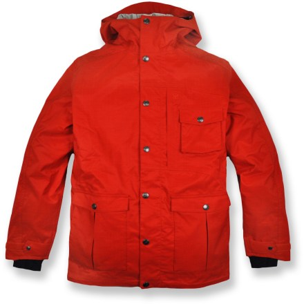 Snowboard The Core Concepts Toaster Jacket is a full-featured jacket for wintertime play with a waterproof, breathable laminate that supplies weather protection and ample breathability. - $90.73