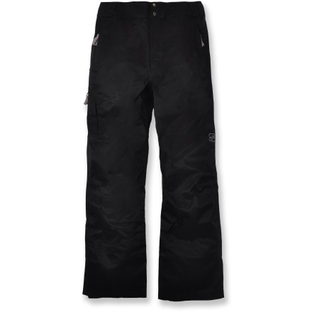 Snowboard The Core Concepts Uncle Ben waterproof, breathable snow pants have you covered for all your wintery mountain play, whether you're in bounds or in the backcountry. - $138.73