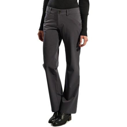 Camp and Hike Thanks to soft, smooth fabric with plenty of stretch, the Lole Travel pants offer lasting comfort whether you're on a cross-continental flight or riding shotgun on a multi-day road trip. - $33.73