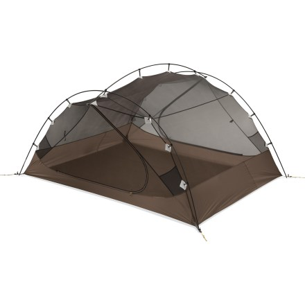 Camp and Hike Three used to be a crowd-especially in the backcountry. But now, the freestanding MSR Carbon Reflex 3 tent eliminates the hassle of figuring out sleeping arrangements for 3. - $479.93